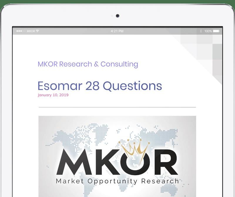 MKOR-Research-esomar-28-questions