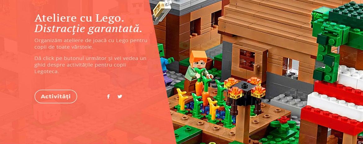 website screenshot legoteca